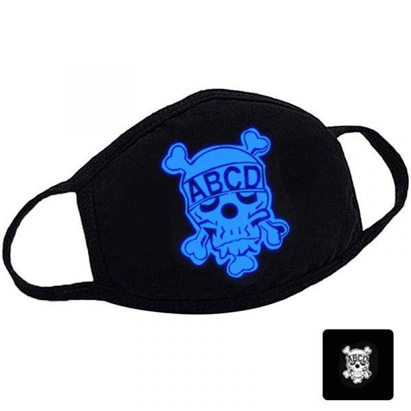 masque anti pollution masque anti bactéries motif fun masque Blue D