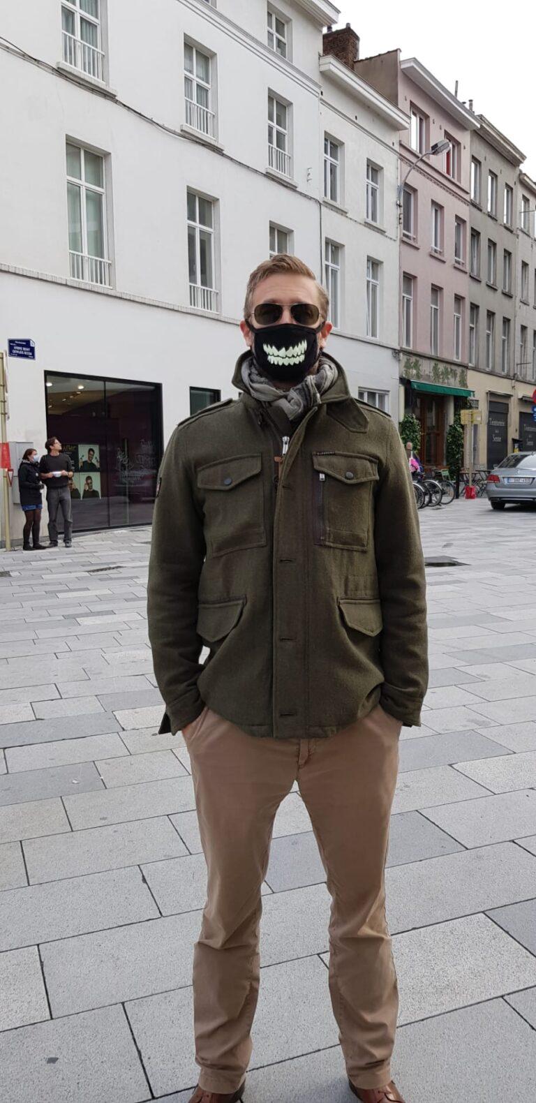 masque fun coton reutilisable