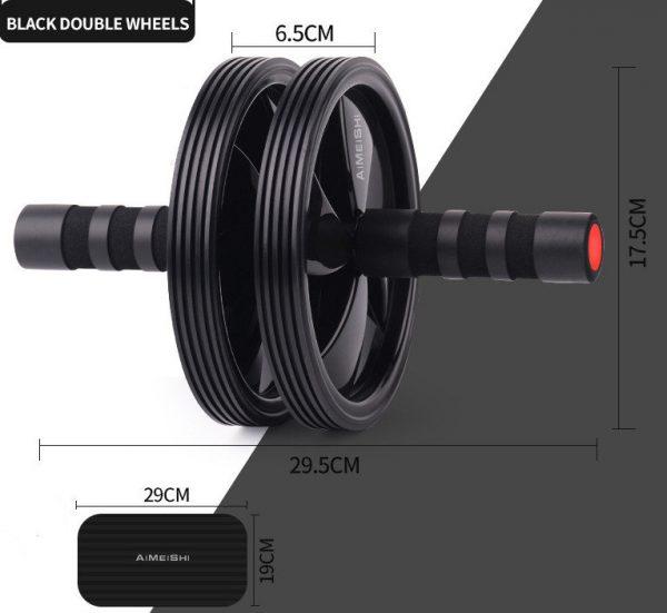 roue abdominale la roue abdos double